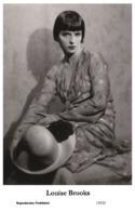 LOUISE BROOKS - Film Star Pin Up PHOTO POSTCARD - 155-25 Swiftsure Postcard - Artistas