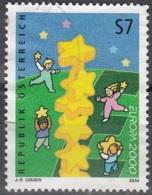 Österreich 2000 Michel 2311 O Cote (2009) 1.20 Euro Europa CEPT Tour D'étoiles Cachet Rond - Oblitérés