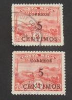 COSTA RICA 2 X  YT 148 OBLITÉRÉS ANNÉES 1929 RARE - Costa Rica