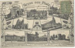 Gruss Aus Metz   En 8 Vues - Francia