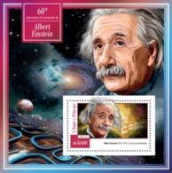 Sao Tome & Principe 2015. [st15112] Albert Einstein (s\s+bl) - Albert Einstein
