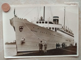Pillau, T.S. Tannenberg Im Hafen, 1935 - Ostpreussen