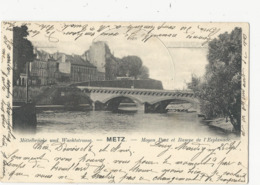 Metz  Moyen Pont Et Rampe  De L'Esplanade - France
