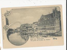 Metz  Vue Prise  De La Place Du Théatre - Francia