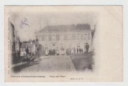 Ecaussinnes - Lalaing  Place Du Pilori  Edit Tricot Série 3 N° 2 - Ecaussinnes