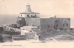 Asie > Israel- PHARE Et VILLA Du CARMEL (lighthouse)  (- Cpa DOS SIMPLE) *PRIX FIXE - Israel