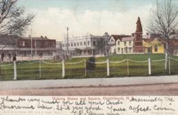 CHRISTCHURCH , New Zealand , 1906 ; Victoria Statue & Square - New Zealand