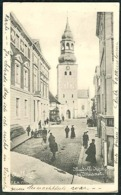 DENMARK Old Postcard AALBORG Budolfi Church & Museum View Posted 1906 To Zurich - Danemark
