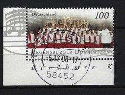 BUND - Mi-Nr. 2318 (Einzelmarke Aus Block 61) Berühmte Knabenchöre Gestempelt - Gebraucht