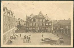 DENMARK Old Postcard HOLSTEBRO Square View Posted 1922 To Austria - Dänemark