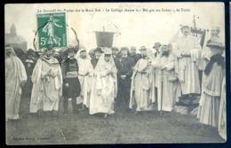 Cpa Du 22  Pedernec Le Gorsedd Des Bardes Sur Le Méné Bré Collège Chante Bro Goz Ma Zadou De Taldir    LZ102 - Guingamp