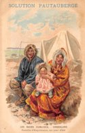 Publicité - N°60570 - Solution Pautauberge - Les Races Humaines - Groenland - Advertising