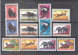 Ruanda-Urundi - Animaux Protégés - Série Complète - XX/MNH - Ruanda-Urundi