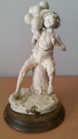 G.Armani Sculptuur Jongen Met Balonnen - Autres