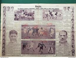 1926 RUGBY - LE QUINZE DE FRANCE  = MAORIS à BORDEAUX - MATCH L'INTRAN - Periódicos