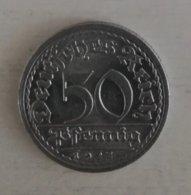 3290 Deutches Reich 50 Pfennig - Belgique
