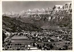 Flums Mit Churfirsten (119) * 13. 8. 1951 - SG St. Gallen