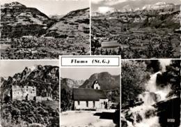 Flums (St. G.) - 5 Bilder (2022) * 30. 11. 1970 - SG St. Gallen