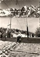 Flumserberg: Skilift Tannenheim - Prodalp (530) * 6. 3. 1958 - SG St. Gallen