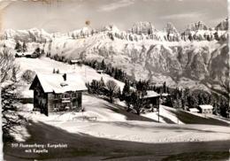 Flumserberg: Kurgebiet Mit Kapelle (517) * 28. 12. 1954 - SG St. Gallen