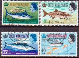 BRITISH VIRGIN ISLANDS 1968 SG 220-23 Compl.set Used Game Fishing - British Virgin Islands