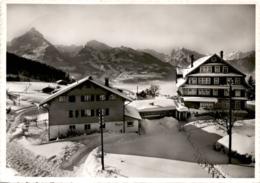 "Amden - Kurhaus ""Bergruh"" - Blick Gegen Mürtschenstock & Glarneralpen (26600) * 21. 2. 1962 - SG St. Gallen"