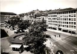 St. Gallen - Marktplatz Mit Schibenertor (30051) - SG St. Gallen