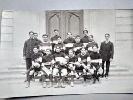 CARTE PHOTO  Équipe De Rugby - Marseille - 1919 - A Identifier  ( Voir Dos Et Photos ) - TBE - Rugby