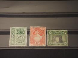 TONGA - 1997 PITTORICA 1/2-3-6- P. -  NUOVI(++) - Tonga (1970-...)