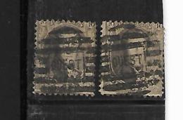 België Getande Med  2 Zegels Oudst - 1863-1864 Medaillen (13/16)