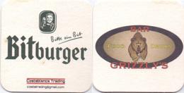 #D236-001 Viltje Bitburger - Beer Mats