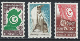 Tunisie YT 451-453 XX / MNH - Tunisia