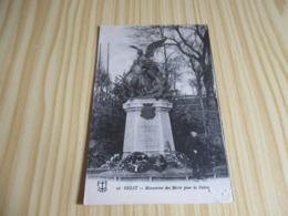 CPA Brest (29).Monument Des Morts Pour La Patrie. - Brest
