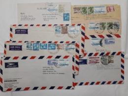 Lot 8x Letter Bangladesch  Air Mail To Germany - Bangladesch