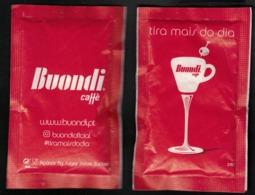 Portugal Sachet Sucre Sugar Buondi Tasse Coupe Cocktail Tira Mais Do Dia Profite Plus De Ta Journée - Sucres
