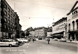 St. Gallen - Theaterplatz (937) * 7. 9. 1964 - SG St. Gall