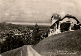 St. Gallen - Restaurant Freudenberg Mit Bodensee (30) * 25. 4. 1951 - SG St. Gallen
