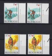N°2082/2083 (pltn°set) MNH ** POSTFRIS ZONDER SCHARNIER SUPERBE - 1981-1990