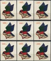 TONGA 1974 Airmail Birds Maroon Shining Parrot Animals Fauna MNH - Pappagalli & Tropicali
