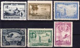 2019-0213 Espana 1930 Lote Selhos Exposicion Ibero-Americana Mi 554-557, 559, 560 Nuevo Sin Charnela MNH ** - Ungebraucht