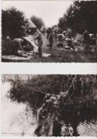 Belgique 4 Cartes Postales De L'Armée Belge. 8 Scans. - Guerres - Autres