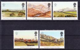 2019-0223 UK 1994 British Landscapes Complete Set Mi 1503-1507 MNH ** - 1952-.... (Elisabeth II.)