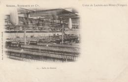 Usine De Lacroix Aux Mines - Strohl, Schwartz Et Cie - Salle De Filature - France