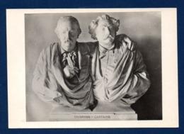 Emile Erckmann Et Alexandre Chatrian. Plâtre De Auguste Bartholdi ( 1872). Musée Bartholdi Colmar - Ecrivains