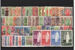 Iceland, * / Used, Mi.CV € 300+ (19n) - Sammlungen (ohne Album)