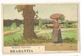 212 - Collection De-ci De-Là à Bruxelles Et En Brabant Par A. Lynen Publicité Margarine Brabantia - Lynen, Amédée-Ernest