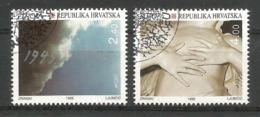Kroatien / Hrvatska 1995  Mi.Nr. 319 / 320 , EUROPA CEPT - Frieden Und Freiheit - Gestempelt / Fine Used / (o) - Europa-CEPT