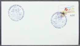 Portugal - Cover 1977 Minerals Scouting Jamboree Ship On Cancel Funchal - 1910-... Republik