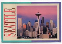 USA -- WA --SEATTLE -- Vue Générale  (immeubles,gratte Ciels)--cachet, Timbre - Seattle