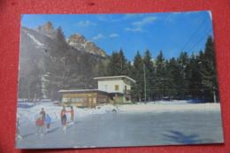 Bolzano No Trento Pozza Di Fassa Campo Di Pattinaggio 1974 - Italia